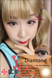 ICK Diamond Brown Contact Lenses