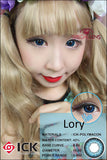 ICK Lory Blue Contact Lenses