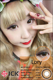 ICK Lory Brown Contact Lenses