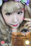 ICK Miso Brown Contact Lenses