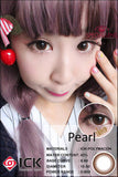ICK Pearl Choco Contact Lenses