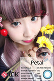 ICK Petal Blue Contact Lenses