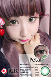 ICK Petal Green Contact Lenses