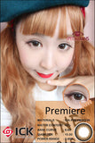 ICK Premiere Brown Contact Lenses