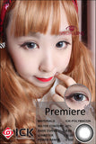 ICK Premiere Grey Contact Lenses