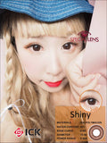 ICK Shiny Choco Contact Lenses