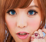 My Melody Blue Contact Lenses