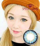 Premium Hana Blue Contact Lenses