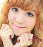 Princess Aurora Brown Contact Lenses