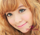 Princess Aurora Grey Contact Lenses