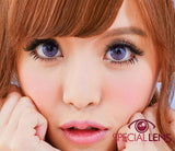 Princess Dizzy Violet Contact Lenses