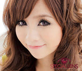 Princess MonGe Pink Contact Lenses