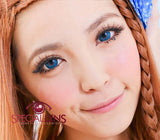 Rilakkuma Blue Contact Lenses