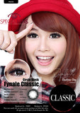 Classic Circle Black Contact Lenses