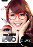 Classic Florence Black Contact Lenses