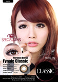 Classic Florence Brown Contact Lenses