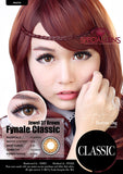 Classic Jewel Brown Contact Lenses