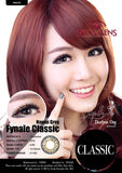 Classic Naomi Grey Contact Lenses