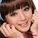Berry Cessy Blue Contact Lenses