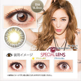 Berry Cessy Grey Contact Lenses