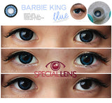 Barbie King Blue Contact Lenses