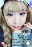 ICK Adora Blue Contact Lenses