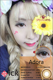 ICK Adora Brown Contact Lenses