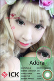 ICK Adora Green Contact Lenses