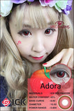 ICK Adora Red Contact Lenses
