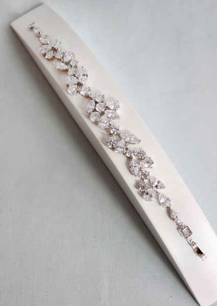 Seren Crystal Bracelet - Adorno Bridal Accessories