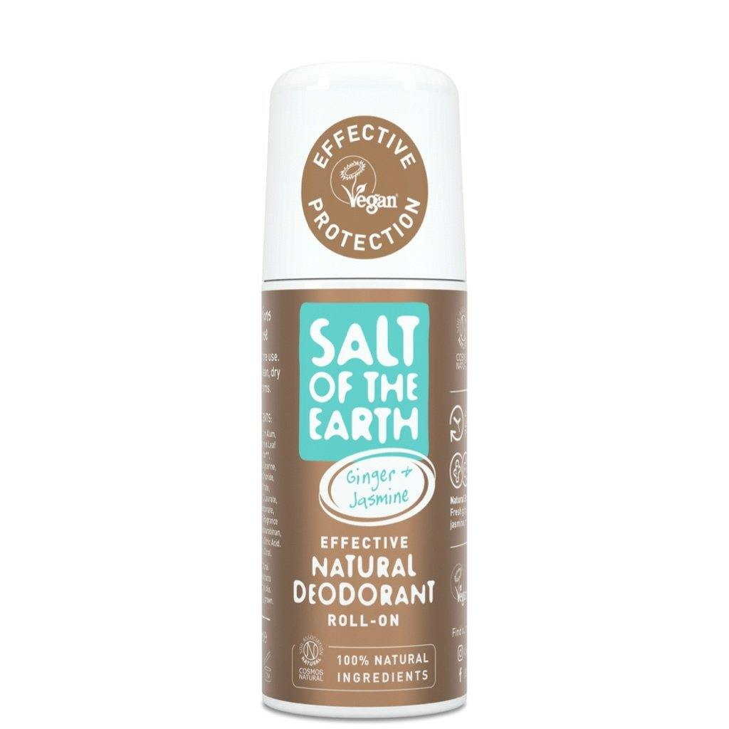 Salt of the Earth Ginger & Jasmine natural deodorant roll on