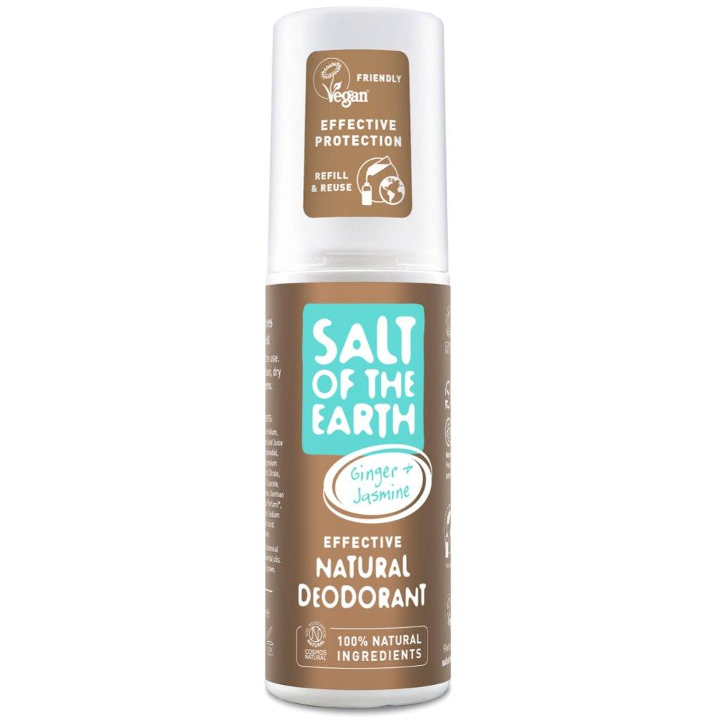 Salt of the Earth Ginger & Jasmine Deodorant Spray