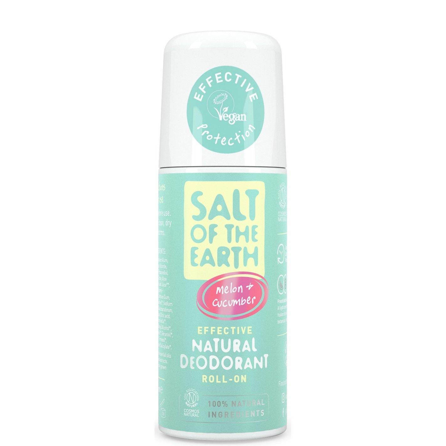Melon & Cucumber Natural Roll-On Deodorant Salt of the Earth
