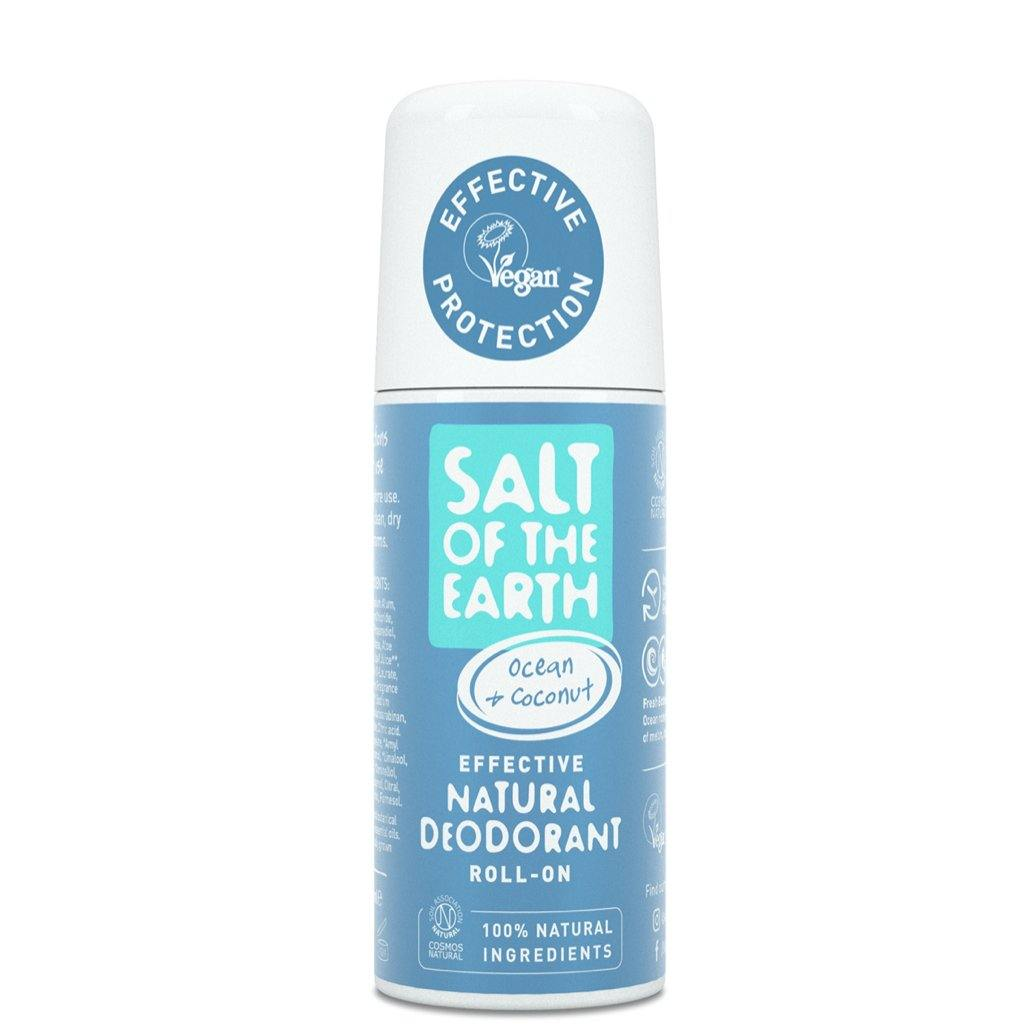 Ocean & Coconut Natural Deodorant Roll-On by Salt of the Earth
