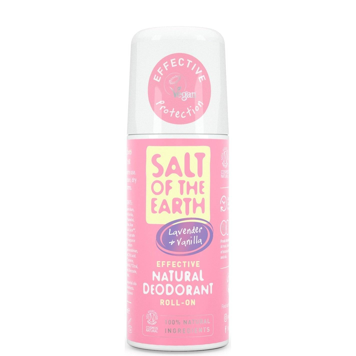Salt of the Earth natural deodorant roll on lavender & vanilla