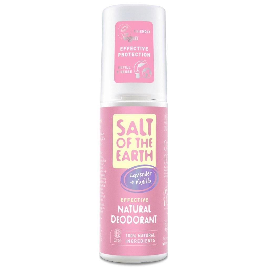 Salt of the Earth Lavender & Vanilla natural deodorant spray