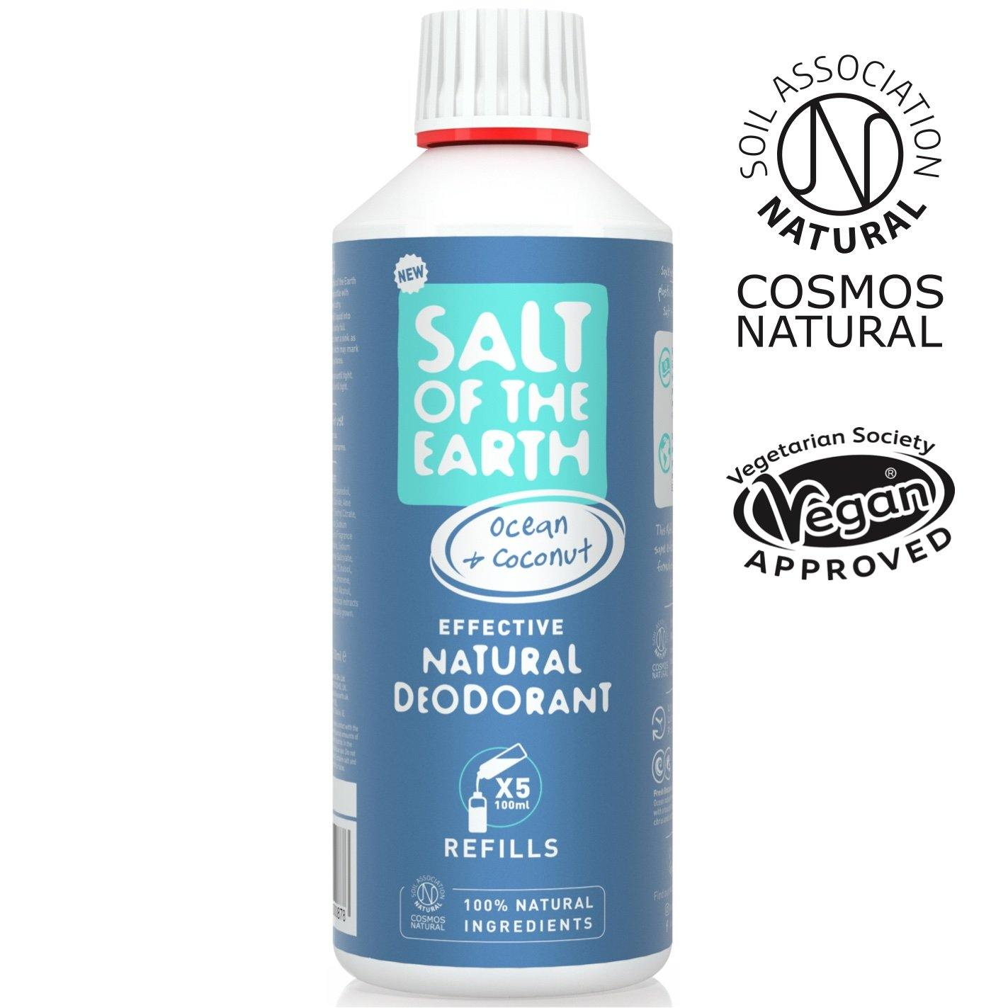 Refill deodorant.  Salt of the Earth Ocean & Coconut