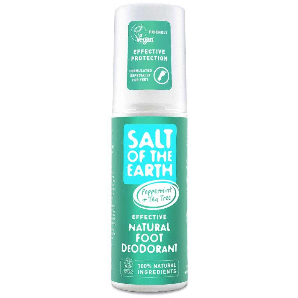 Salt of the Earth Peppermint & Tea Tree Natural Foot Deodorant