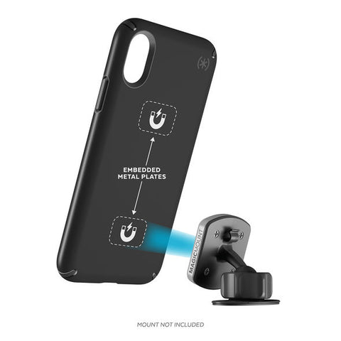 Speck Presidio Mount Case for iPhone X - Black