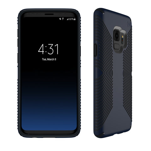 Speck Presidio Grip Case for Samsung Galaxy S9 - Eclipse Blue / Carbon Black