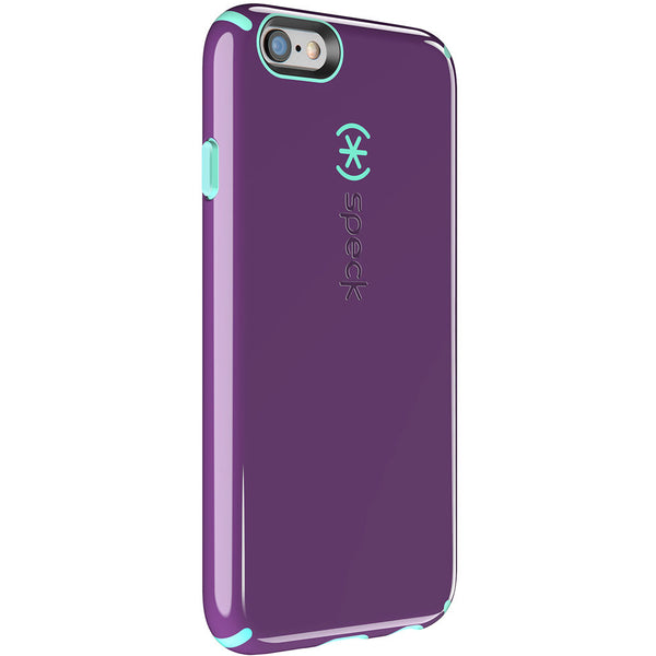 Speck Apple iPhone 6 / 6s CandyShell Case - Acai Purple / Aloe Green