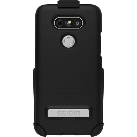 Seidio Surface LG G5 Metal Kickstand And Holster Combo Case - Black