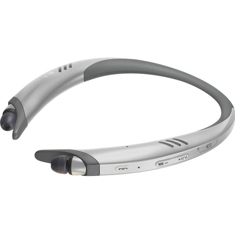 LG Tone Active + HBS-A100 Bluetooth Stereo Headset - Silver