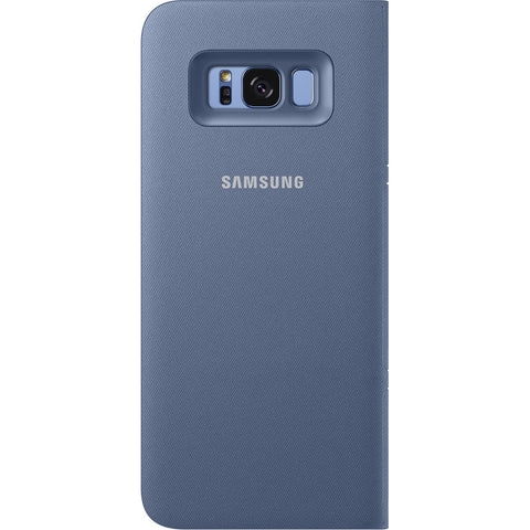 Samsung Galaxy S8+ LED View Case - Blue