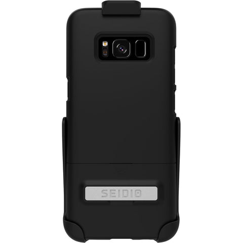 Seidio Surface Samsung Galaxy S8 Metal Kickstand And Holster Combo Case - Black