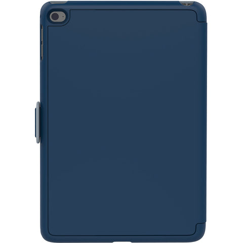 Speck Apple iPad Mini 4 StyleFolio Case - Deep Blue Sea And Nickel Gray