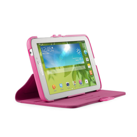Speck Samsung Galaxy Tab 3 7.0 FitFolio Case - Raspberry Pink Vegan Leather