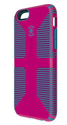 Speck Apple iPhone 6 Plus Candyshell Grip Case - Lipstick Pink / Jay Blue