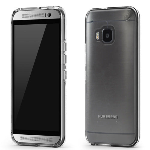 PureGear HTC One M9 Slim Shell Case - Clear / Clear