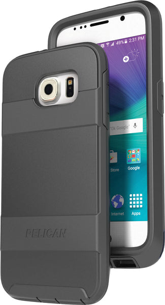 Pelican Samsung Galaxy S6 Voyager Case and Holster - Black
